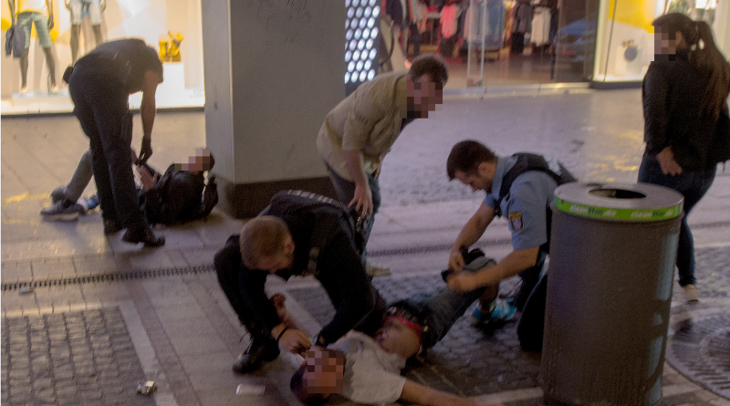 Происшествия: Ножевое нападение переросло в массовую драку