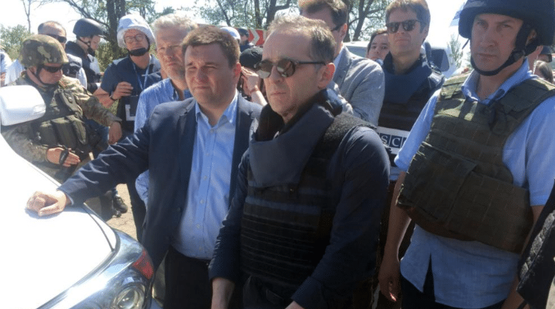 Новости: Маас приехал в зону боевых действий на востоке Украины