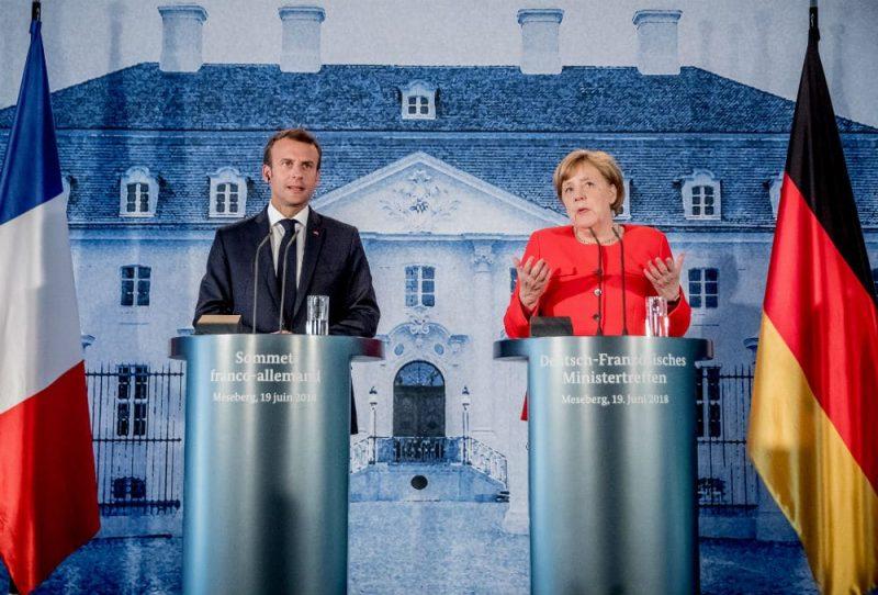 Политика: Макрон и Меркель рассказали о будущем Евросоюза
