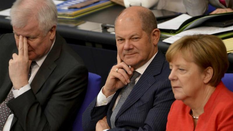 Политика: Большая коалиция теряет электорат