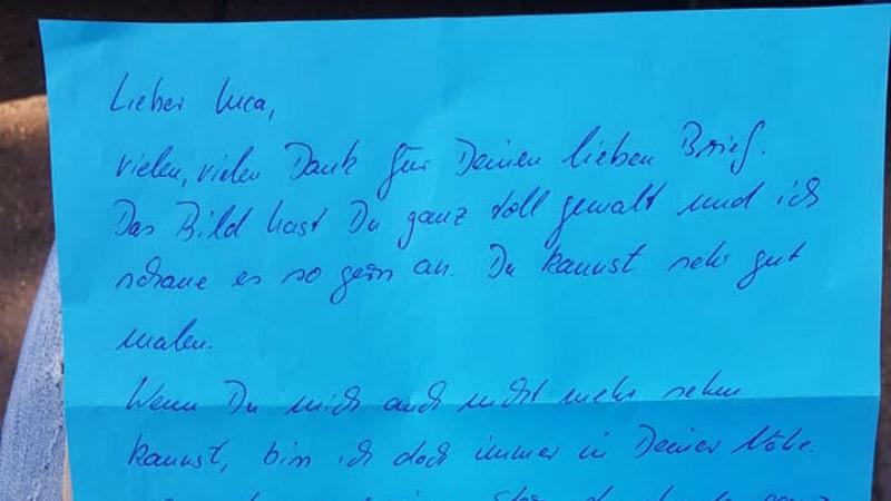 Общество: Мальчик отправил письмо умершему дедушке и получил ответ