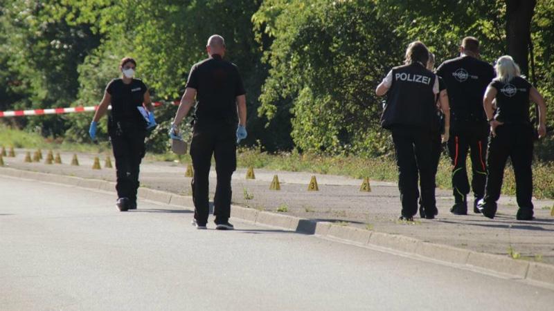 Происшествия: В Эрфурте литовец похитил бывшую подругу, тяжело ранил прохожего, и сбежал