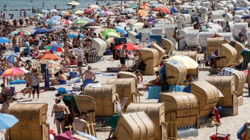 Погода: В Германии по-прежнему очень жарко