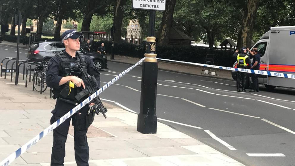 Отовсюду обо всем: Очередной теракт у здания британского парламента?