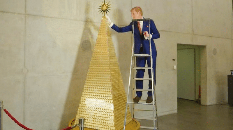 Общество: Самая дорогая рождественская елка Европы находится в Мюнхене