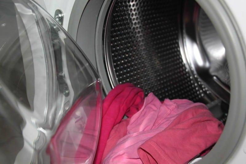Домашние хитрости: Белье в стиральной машинке