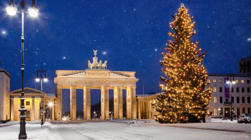 Погода: Рождество со снегом будет лишь в некоторых регионах Германии
