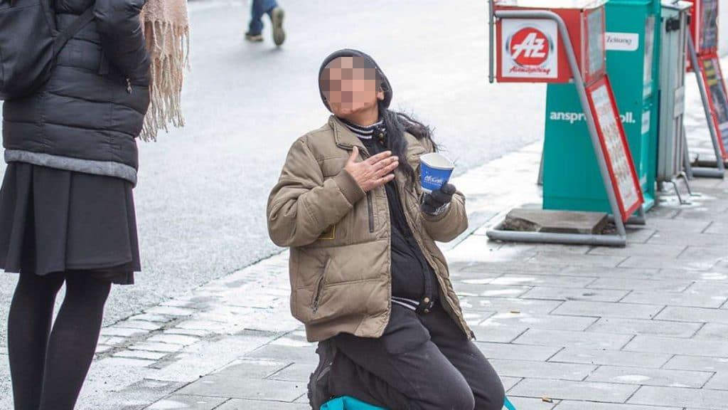 Общество: Попрошайки из Восточной Европы терроризируют Мюнхен