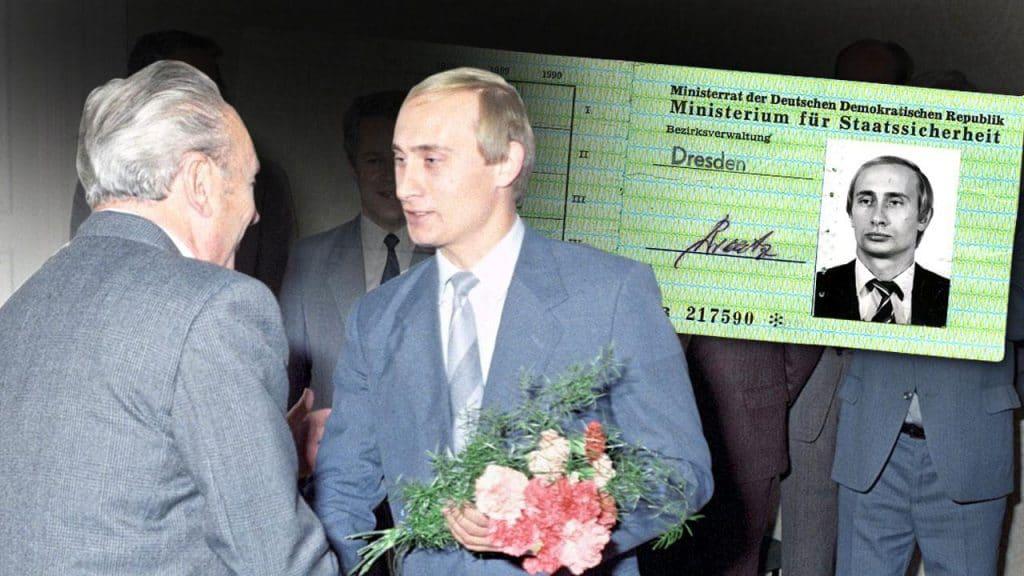 Знаменитости: Найдено удостоверение агента Штази, принадлежащее Владимиру Путину