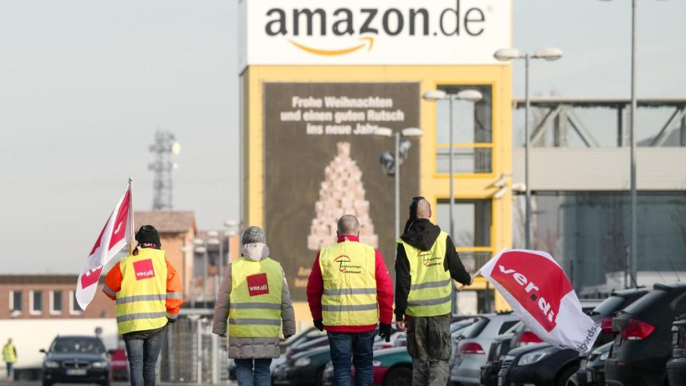 Происшествия: Рождество в опасности: работники Amazon грозятся уйти на забастовку