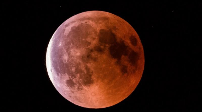 Общество: Кровавая Луна: где и когда можно наблюдать лунное затмение