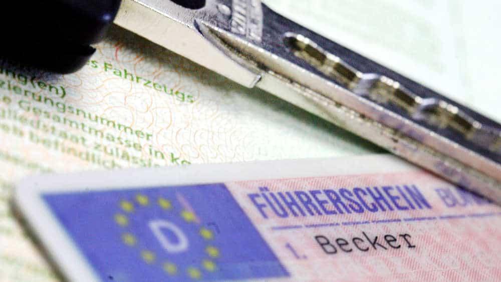 Общество: В супермаркете Lidl мужчина приобрел водительское удостоверение за €300