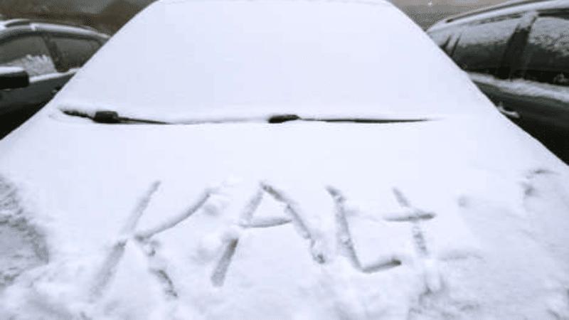 Общество: Немецкий словарь: фразы и слова для выживания зимой