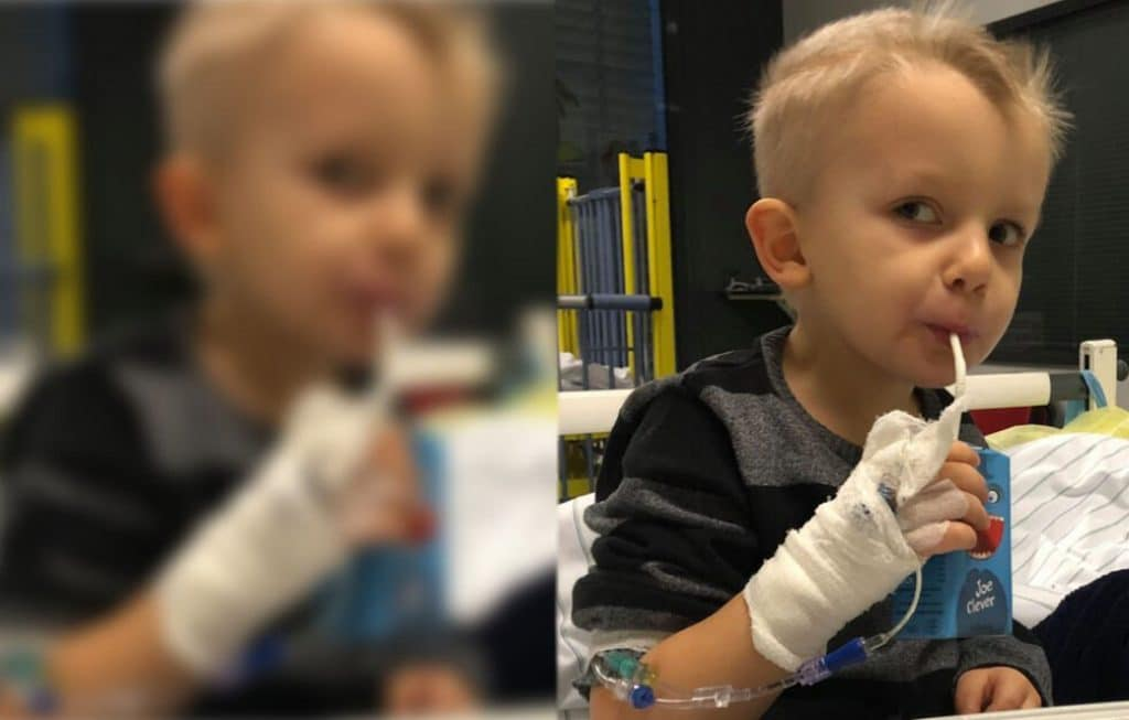 Происшествия: Врачи игнорировали симптомы: теперь маленький Самми борется за свою жизнь