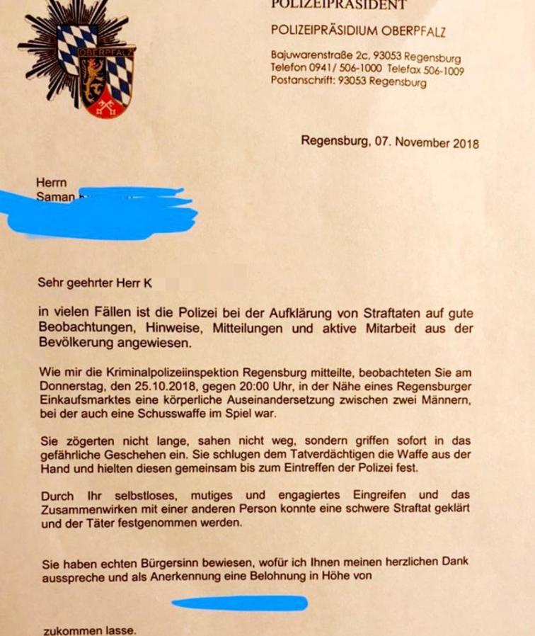 Происшествия: В Баварии беженец-кикбоксер предотвратил ограбление в супермаркете рис 3