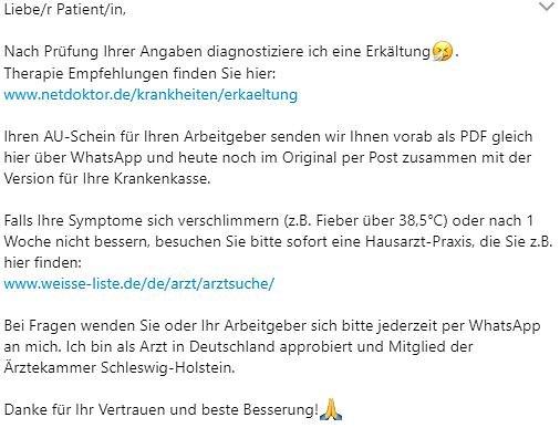 Общество: Новый сервис: как в Германии получить больничный, не посещая врача? рис 2