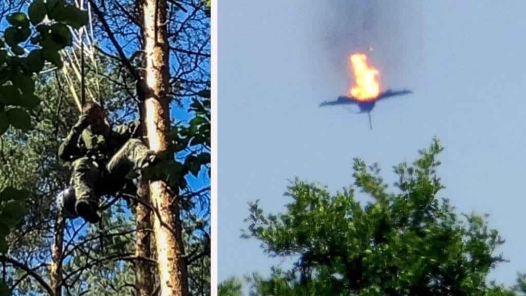 Происшествия: Столкновение истребителей Eurofighter: один из пилотов погиб