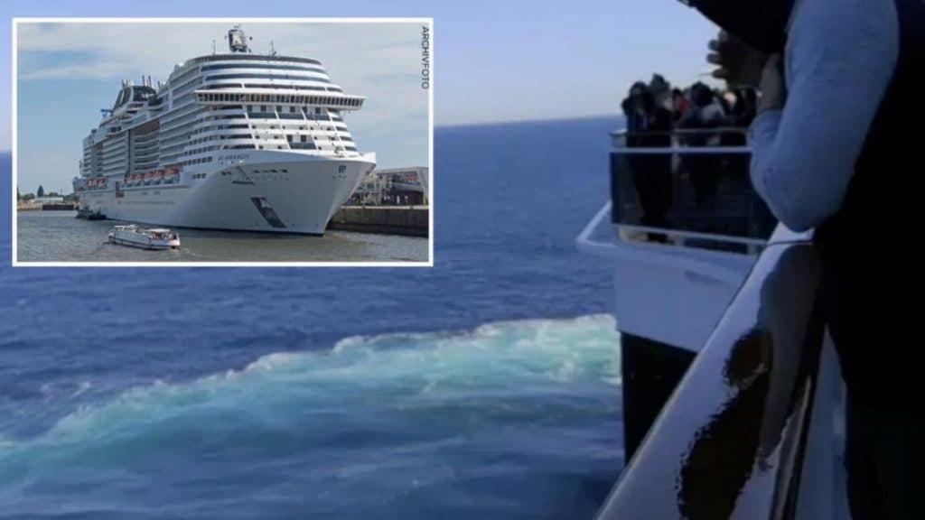 Происшествия: Немка выпала за борт большого круизного лайнера и погибла