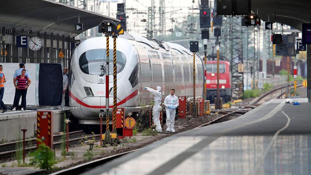Происшествия: Во Франкфурте африканец толкнул под поезд мать с ребенком и пытался сбежать рис 2