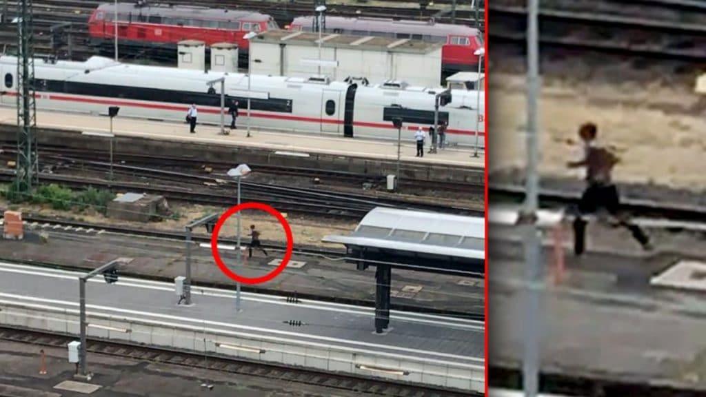 Происшествия: Во Франкфурте африканец толкнул под поезд мать с ребенком и пытался сбежать