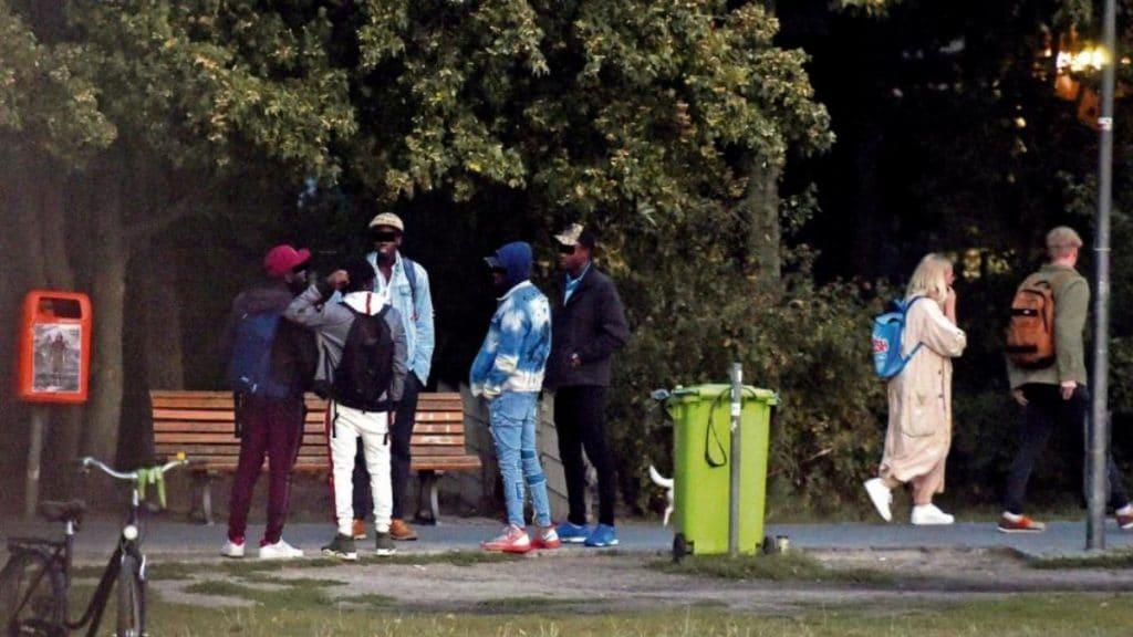 Происшествия: Пока жители района страдают от наплыва наркодилеров, власти устраивают для них футбольный турнир