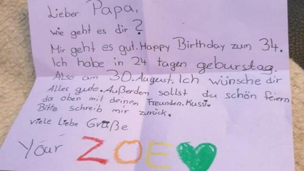 Общество: Девятилетняя школьница написала письмо своему умершему отцу и получила ответ
