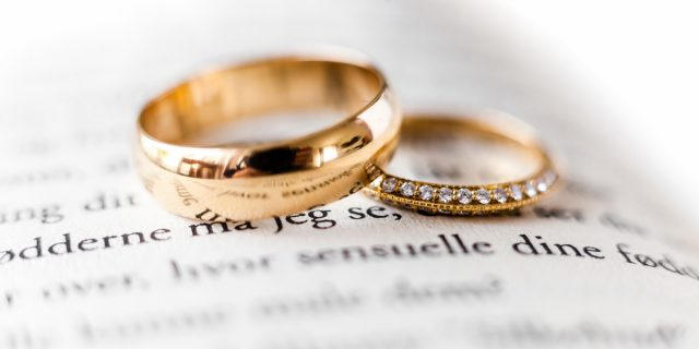 Регистрация браков в Дании.
